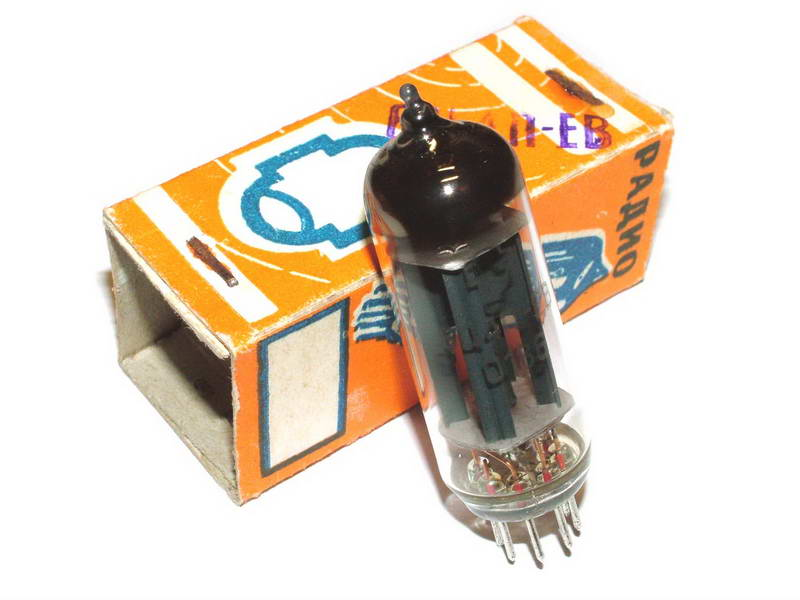 6C4P-EV / 6Z4 / EZ90 / 6Z31 tube (original box)