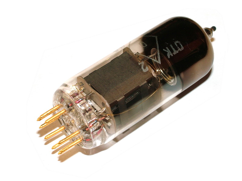 6E6P-DRY/DRU audiophile tetrode GOLD pins & grid tube