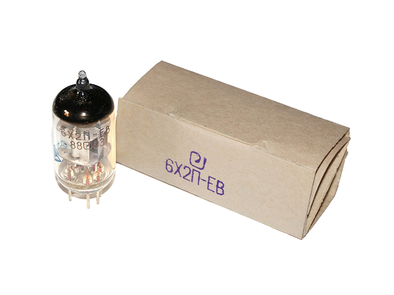 6H2P-EV / 6X2P / EAA91 / 6B32 / EB91 tube (original box)