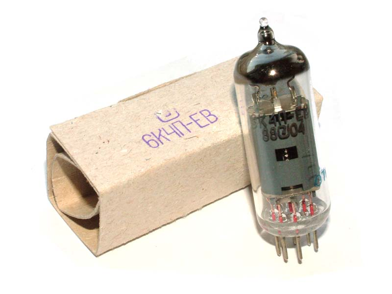 6K4P-EV / EF93 / 6BA6 / W727 tube (original box)