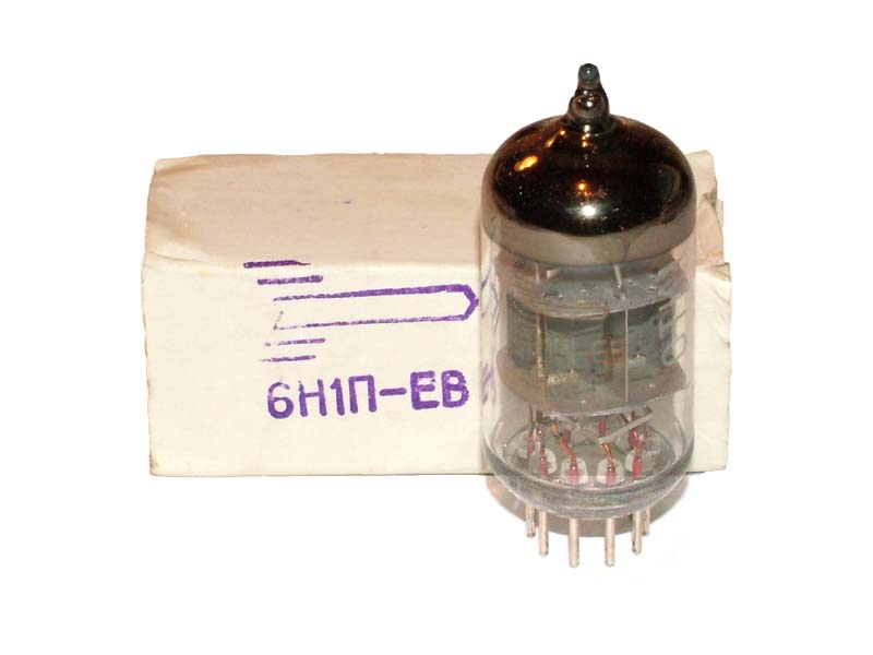 6N1P-EV / 6DJ8 / ECC88 / 6922 tube (original box)