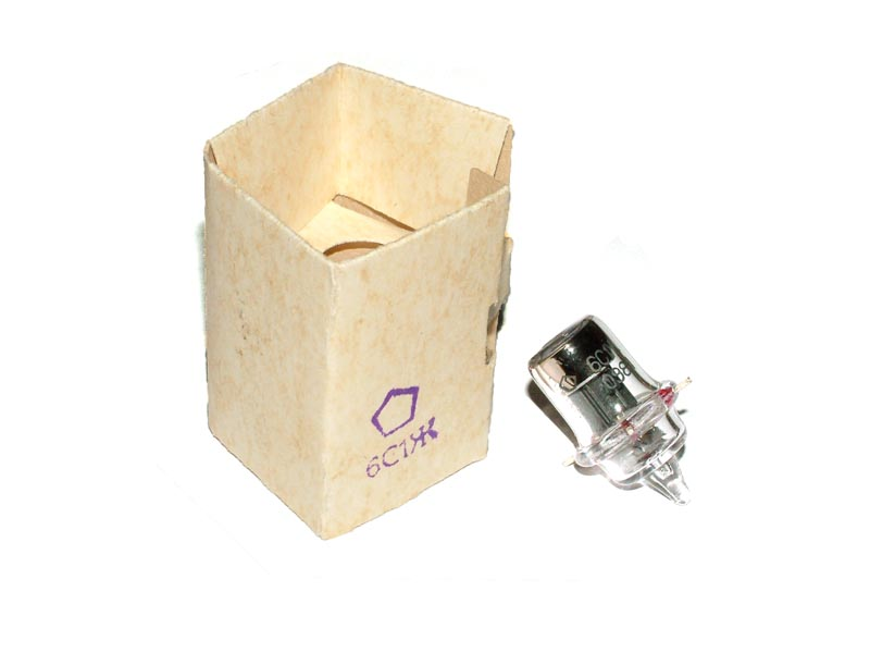 6S1J / 6S1Zh / 955 / VT-121 Acorn-type tube (original box)