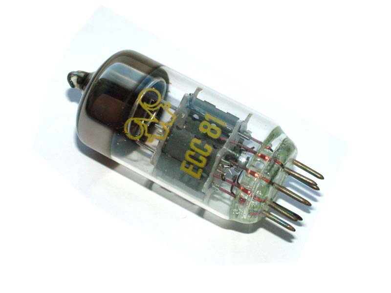 ECC81 / 12AT7 RFT tube