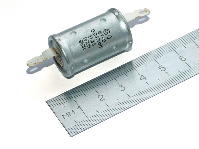 FT-2 200V 0.047uF teflon capacitor