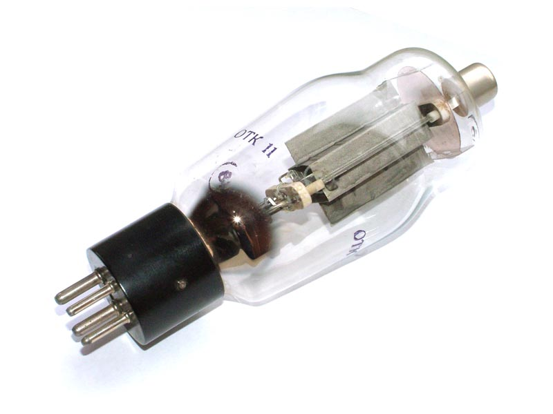 G-811 / G811 / 811A triode tube (old type)