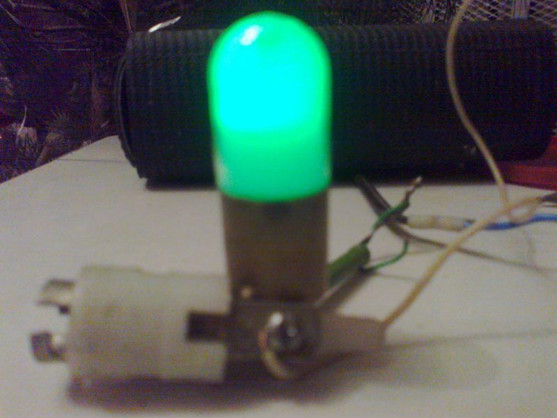 TLZ-3-2 neon luminophore (green glow) tube
