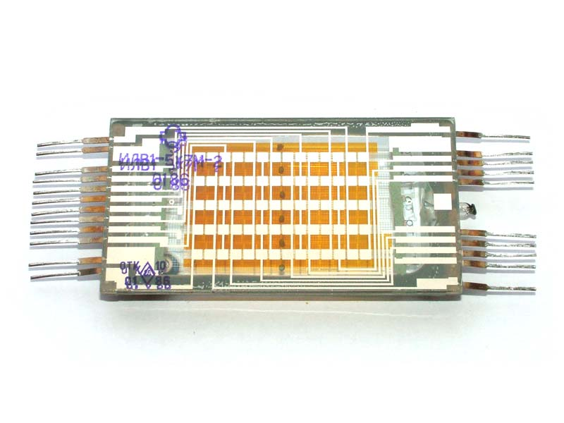 ILV1-5x7M matrix bicolor VFD tube