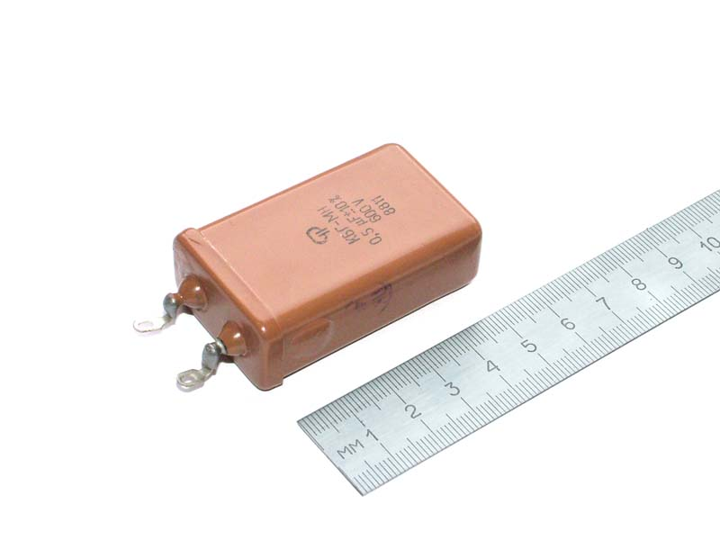 KBG 600V 0.5uF PIO capacitor - wholesale price!!!