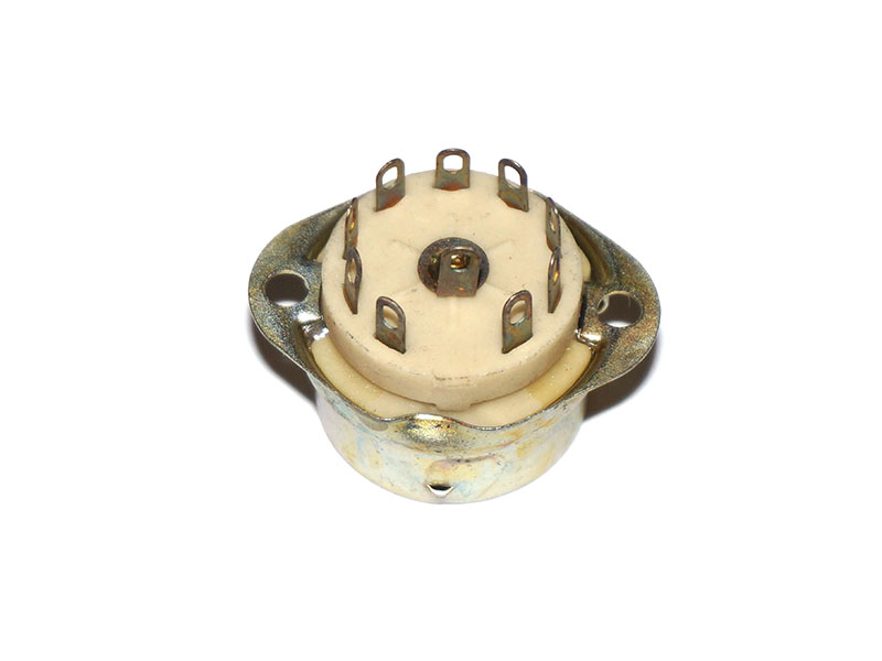 9 pin shield base ceramic socket