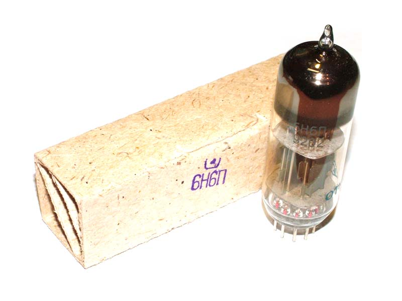 6N6P / ECC99 / E182CC tube (original box)
