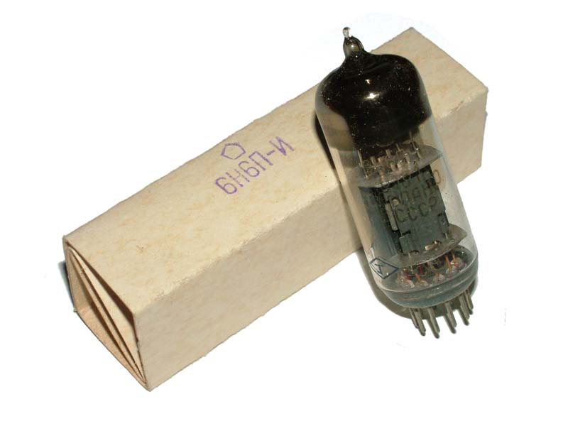 6N6P-I / 6N6PI / ECC99 / E182CC tube (original box)