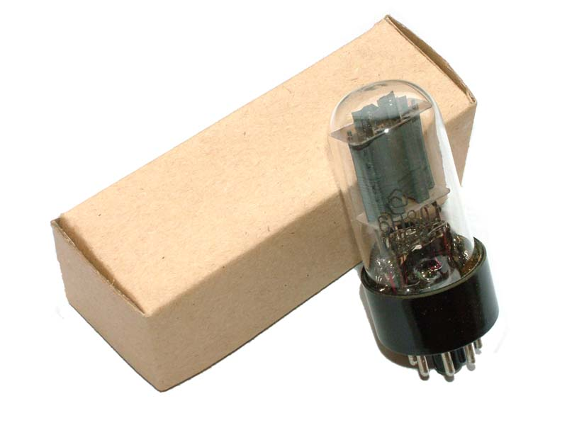6N8S / 6SN7 / ECC32 / 6CC10 tube (original box)
