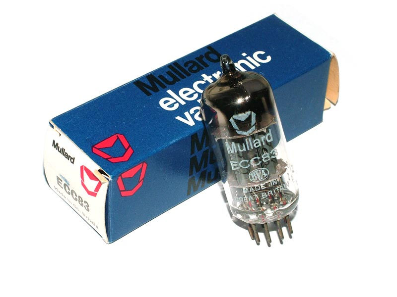 ECC83 / 12AX7 MULLARD tube (original box)