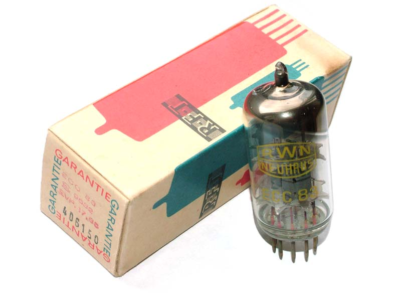 ECC83 / 12AX7 RWN NEUHAUS tube (original box)