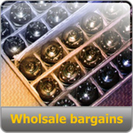 Wholesale bargains